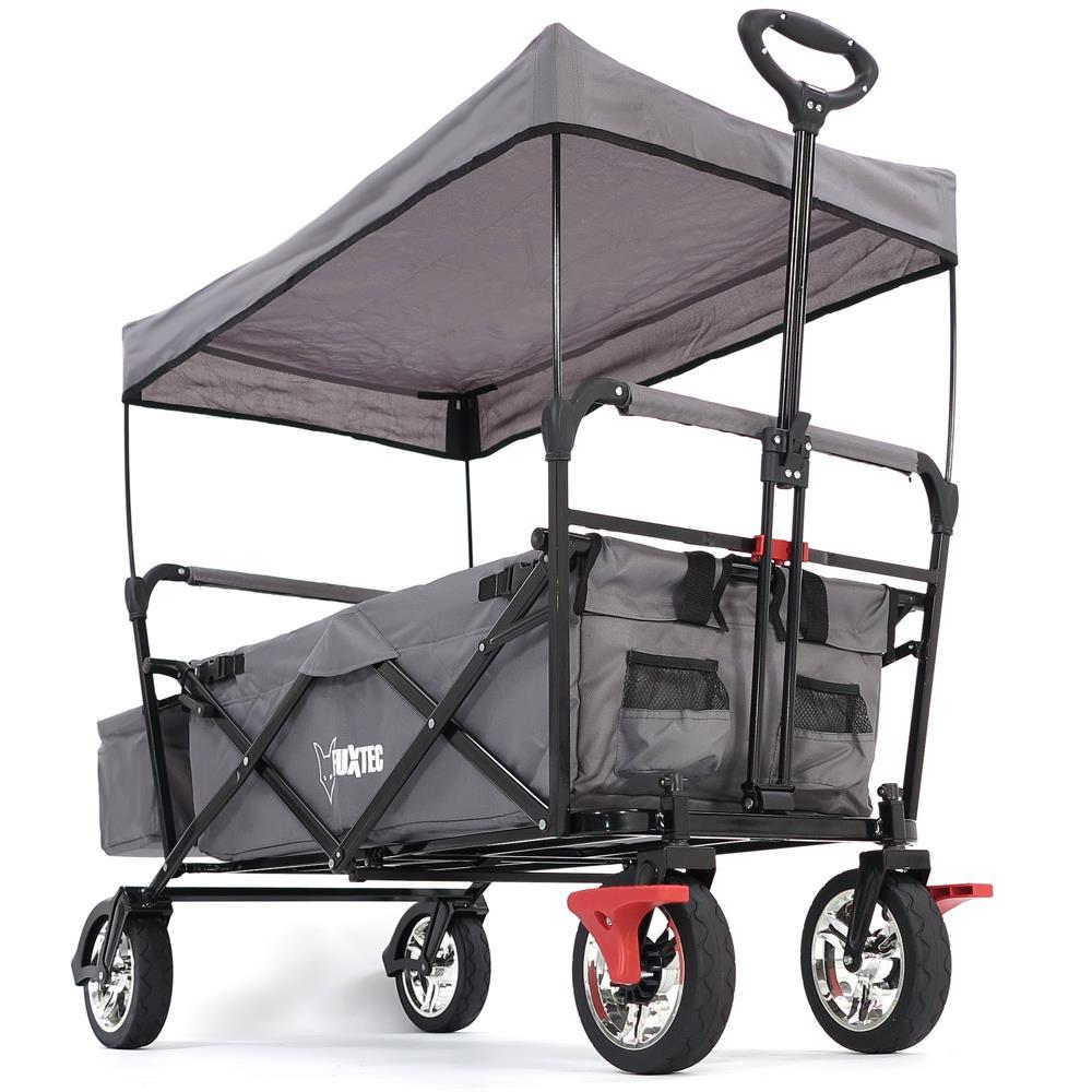 bollerwagen strandwagen handwagen fuxtec faltbarer ger tewagen faltbar ebay. Black Bedroom Furniture Sets. Home Design Ideas