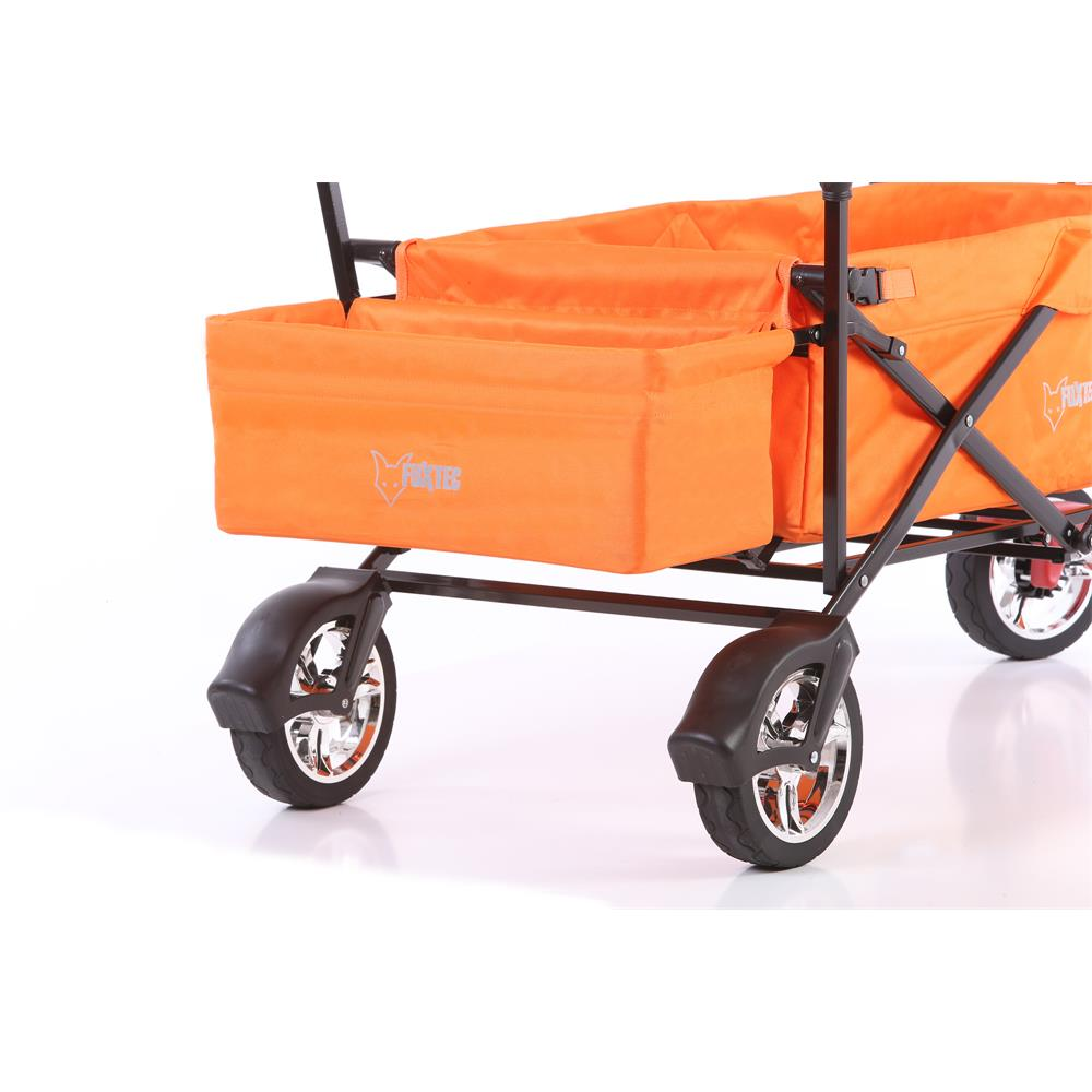 bollerwagen faltbarer fuxtec strandwagen handwagen wagen faltbar transport. Black Bedroom Furniture Sets. Home Design Ideas