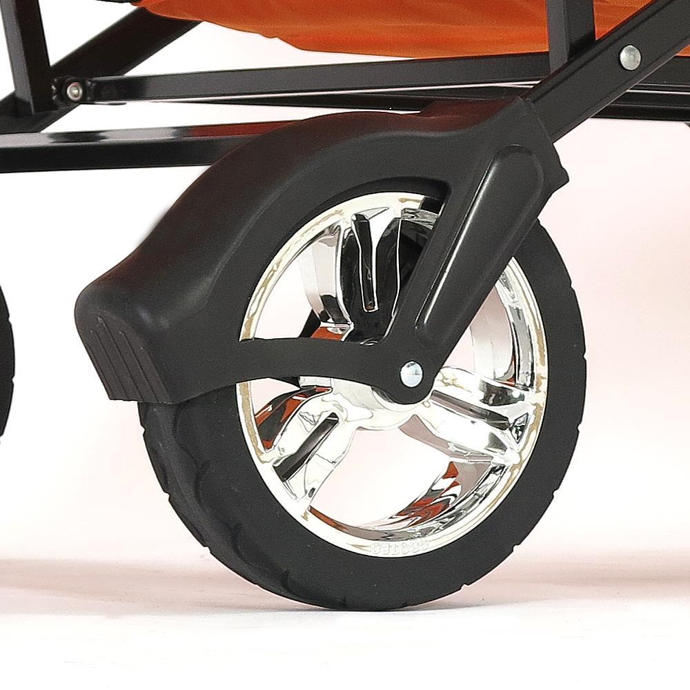 fuxtec faltbarer bollerwagen strandwagen handwagen ger tewagen faltbar transpor ebay. Black Bedroom Furniture Sets. Home Design Ideas