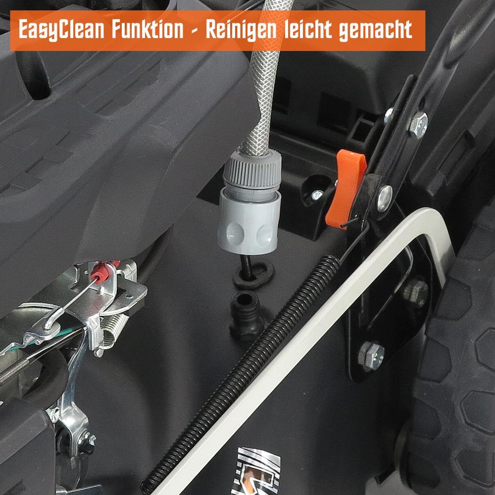 fuxtec benzin rasenm her 7 0ps incl selbstantrieb gt markengetriebe 200ccm ebay. Black Bedroom Furniture Sets. Home Design Ideas