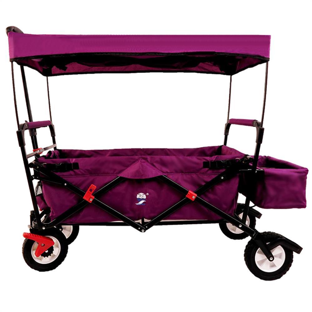 bollerwagen faltbar hnl fuxtec handwagen transportwagen ger tewagen klappbar ebay. Black Bedroom Furniture Sets. Home Design Ideas