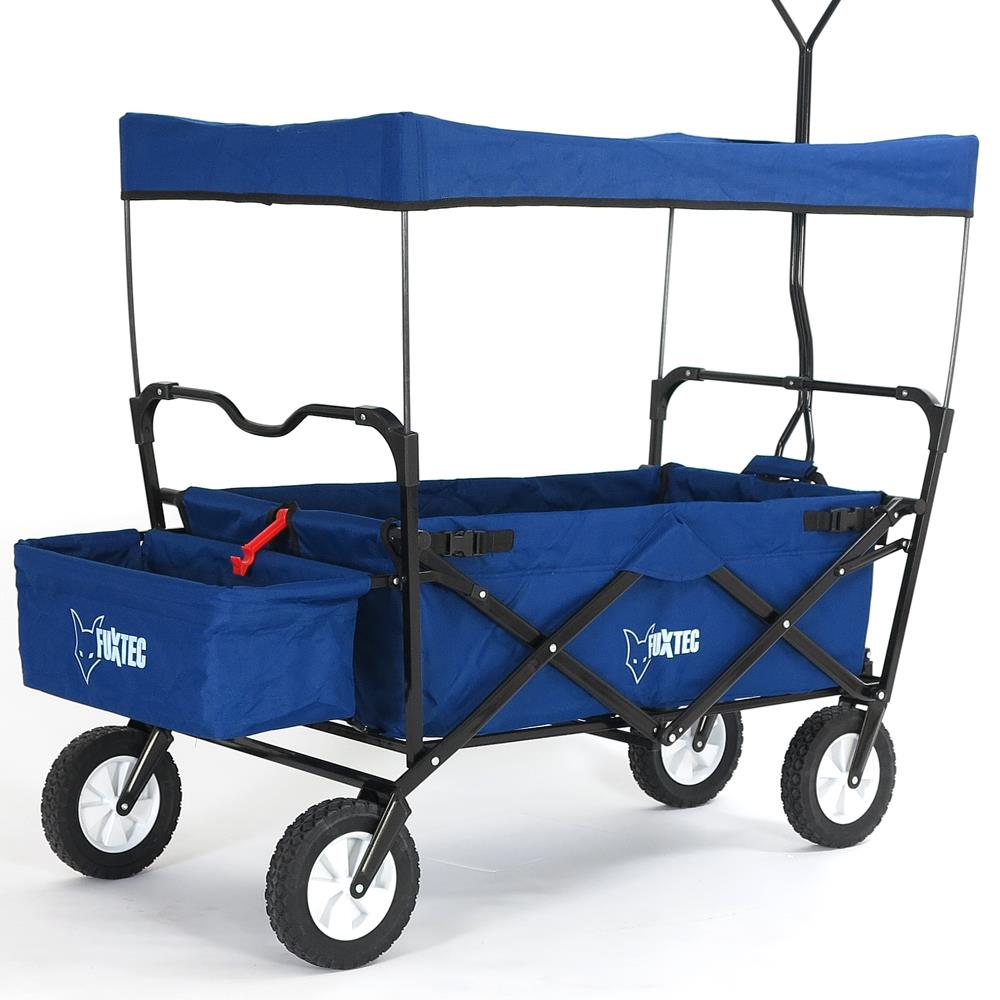 faltbarer bollerwagen strandwagen klappbar handwagen faltbar transportkarre ebay. Black Bedroom Furniture Sets. Home Design Ideas
