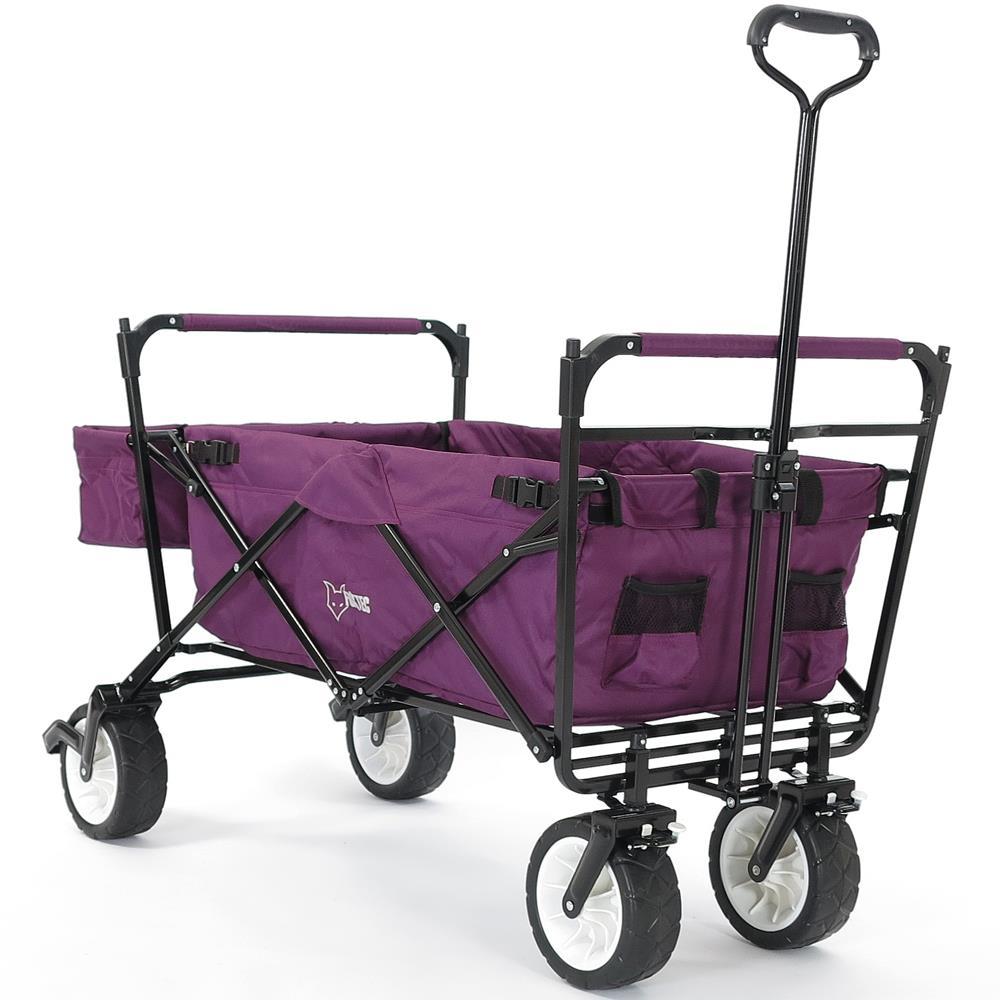 jw76cp lila purpur faltbarer bollerwagen mit dach. Black Bedroom Furniture Sets. Home Design Ideas
