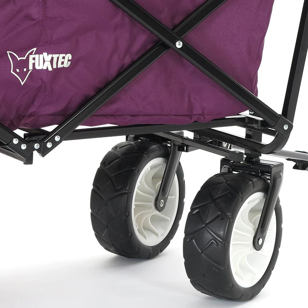 orig fuxtec bollerwagen faltbar strandwagen kinderwagen ger te wagen handwagen. Black Bedroom Furniture Sets. Home Design Ideas