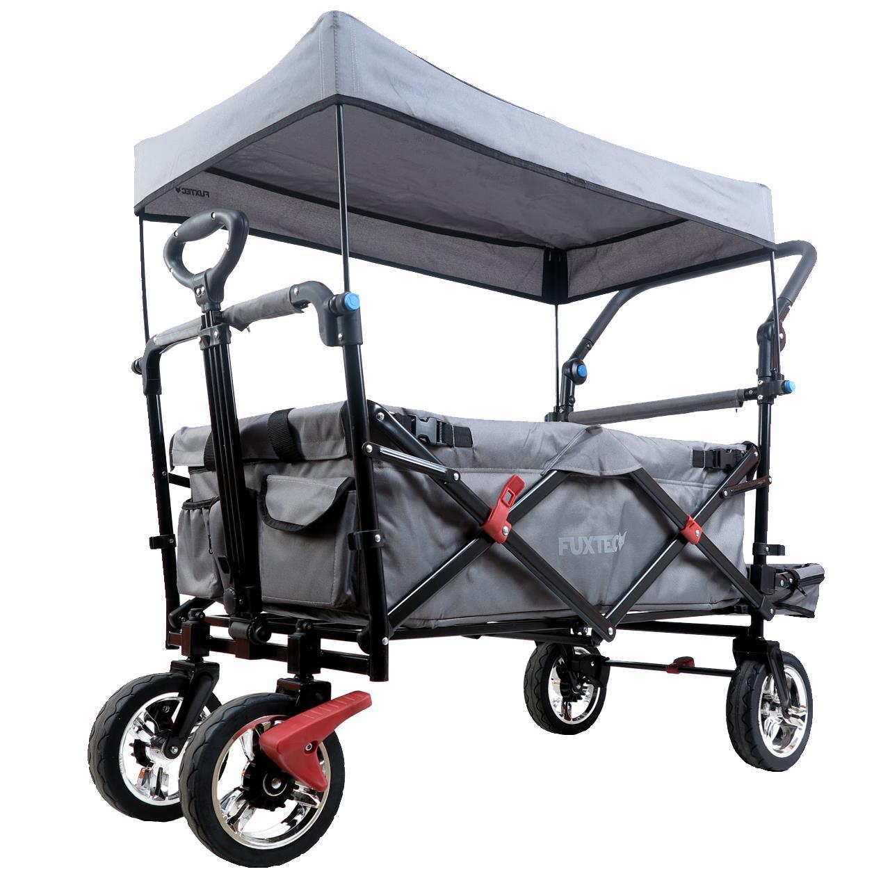 fuxtec bollerwagen fx ct800 faltbarer transportwagen handwagen gartenwagen ebay. Black Bedroom Furniture Sets. Home Design Ideas