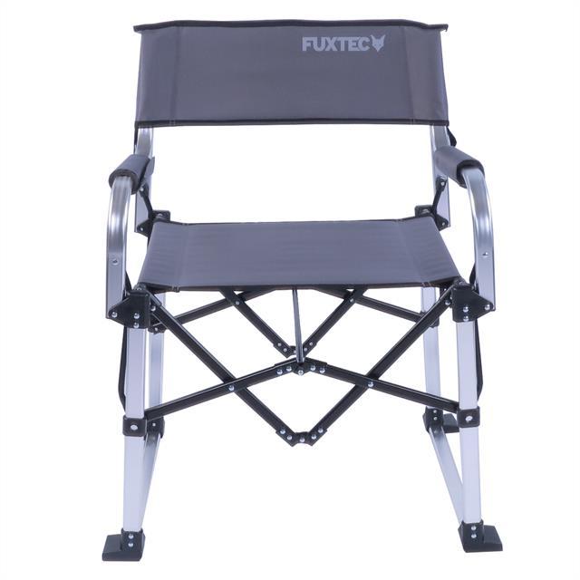 fuxtec camping klappstuhl alu fx nc117 grau garten stuhl. Black Bedroom Furniture Sets. Home Design Ideas