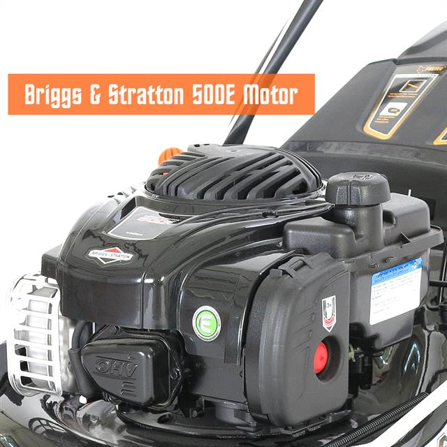 briggs stratton benzin rasenm her mit selbstantrieb motorm her b s bs ebay. Black Bedroom Furniture Sets. Home Design Ideas