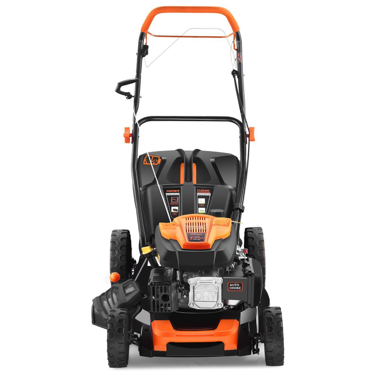 FUXTEC-Benzin-Rasenmaeher-FX-RM4639-Motormaeher-139ccm-Maeher-Benzinmaeher-4PS