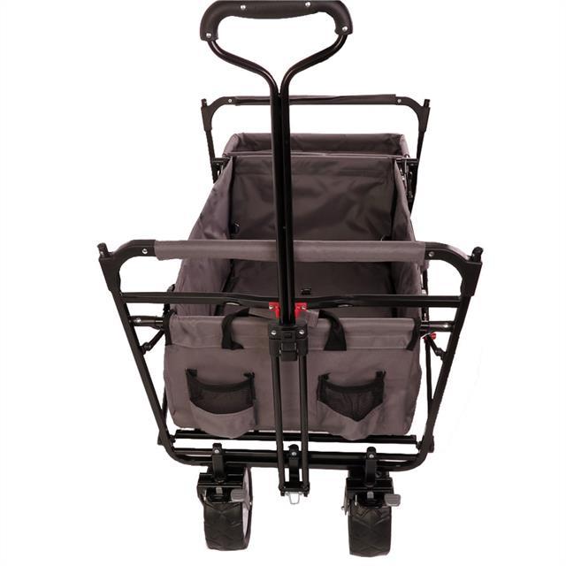 fuxtec bollerwagen faltbar jw76cg strandwagen kinderwagen ger tewagen handwagen ebay. Black Bedroom Furniture Sets. Home Design Ideas