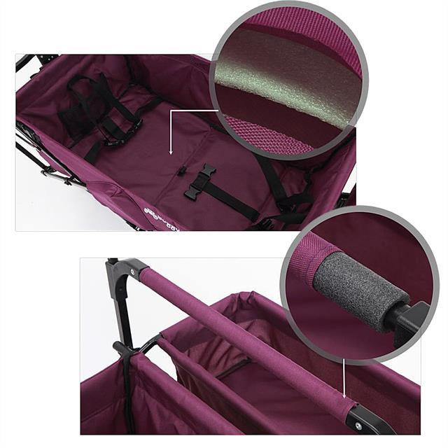 fuxtec chariot tirer pliable jw76cg plage voiture poussette p riph riques voiture chariot ebay. Black Bedroom Furniture Sets. Home Design Ideas