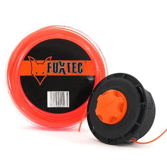 2,4 x 85m FUXTEC Nylon-Faden M/ähfaden Fadenspule Benzin Motorsense